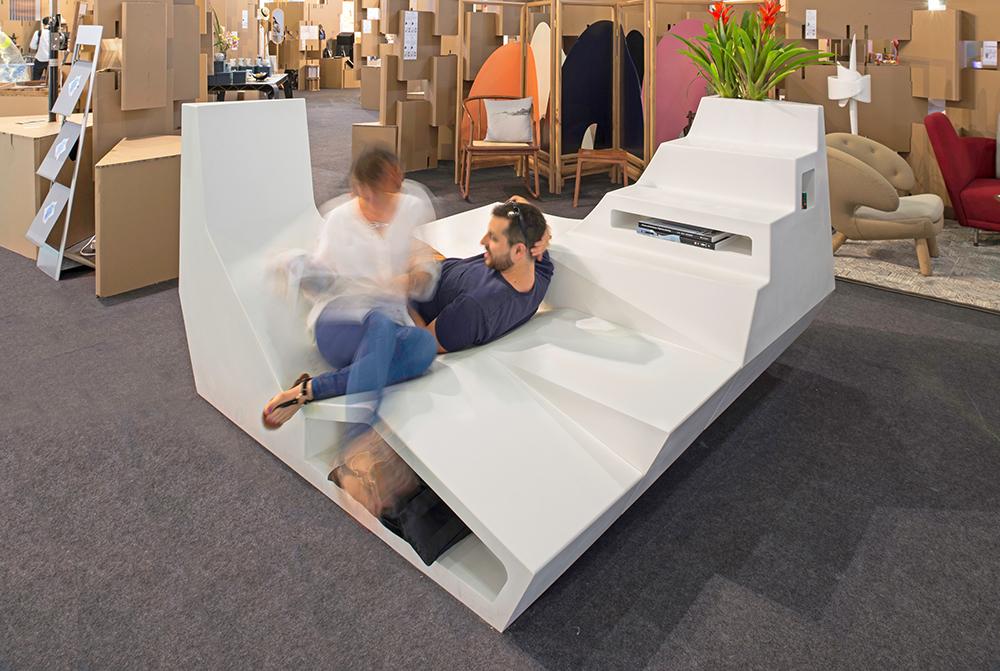 100 architects Shanghai, design an outdoor furniture
