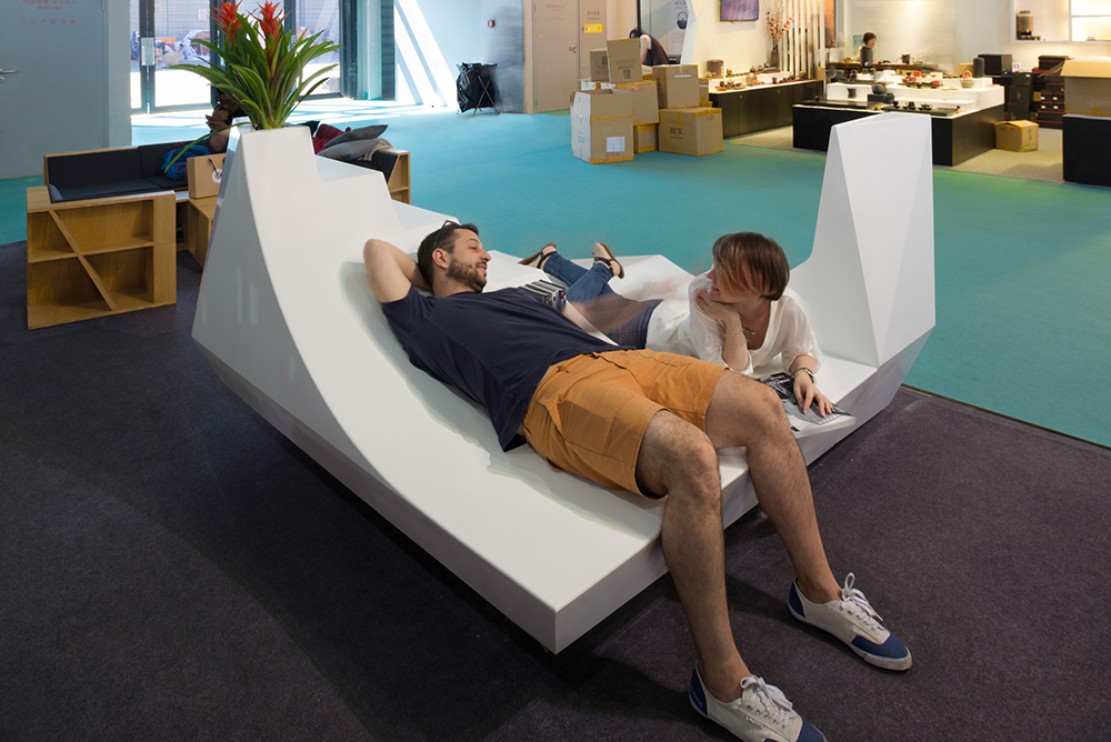 100 architects Shanghai, design an outdoor furniture
