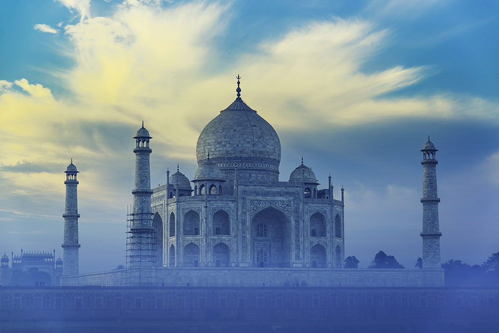 Taj Mahal in early morning