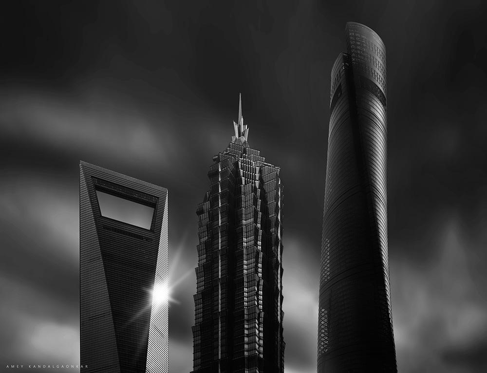 Shanghai Triscrapers