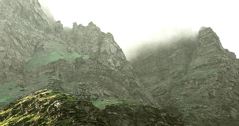 Ladakh Valley in Kashmir