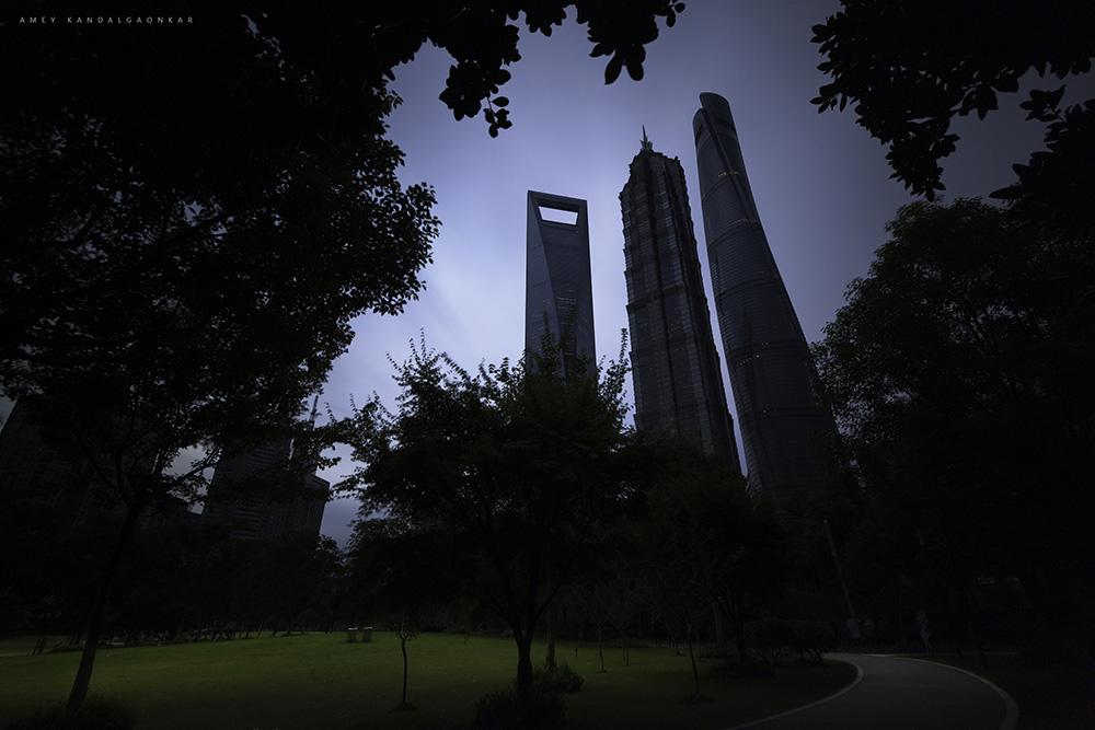 The Triscrapers Shanghai