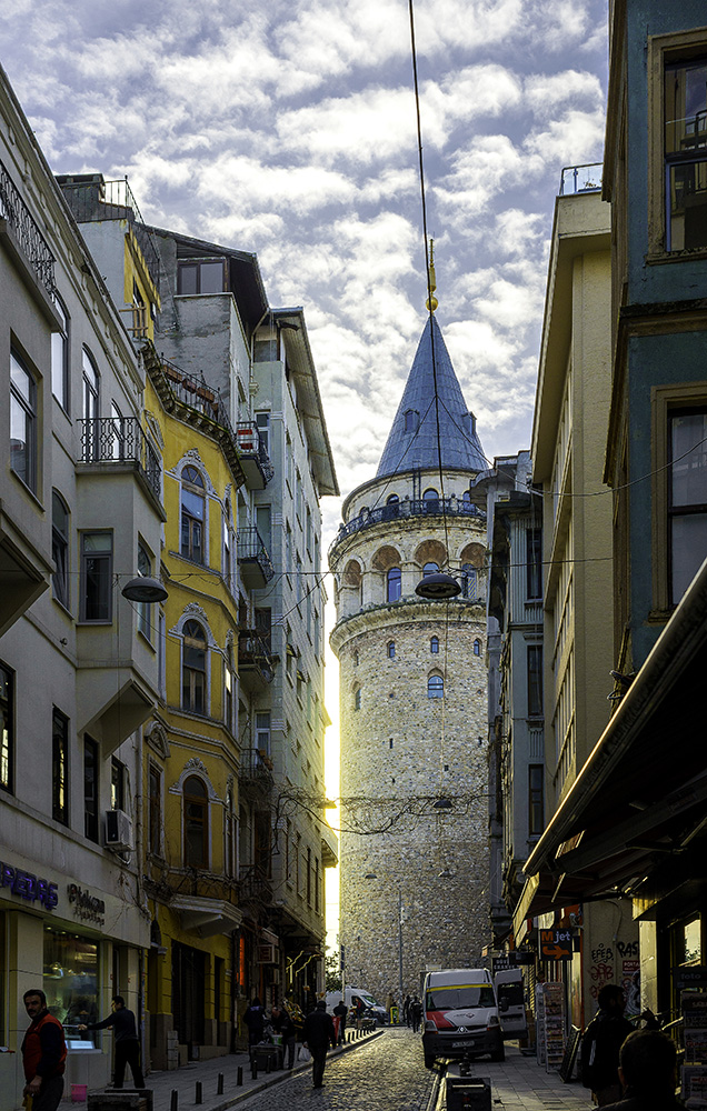 Galata Tower sunrise