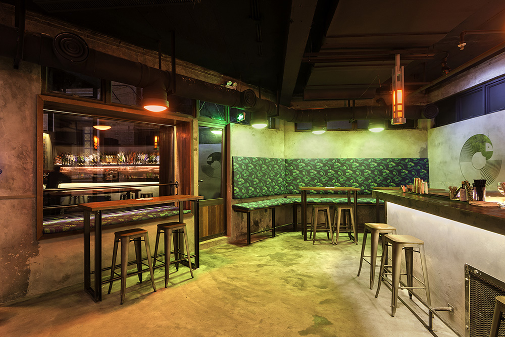 The Parrot Bar in Shanghai