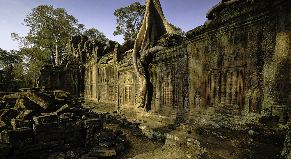 Preah Khan Temple in Angkor Thom