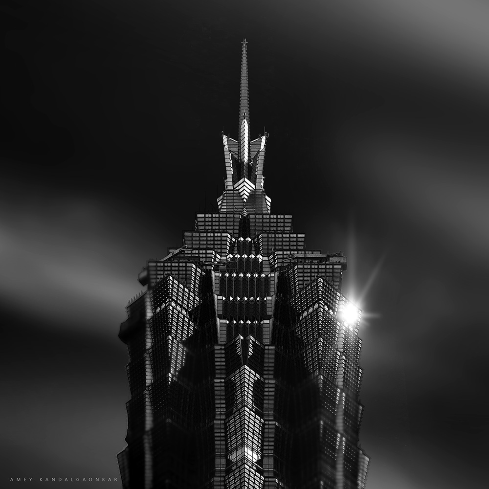 Portrait of JinMao Tower