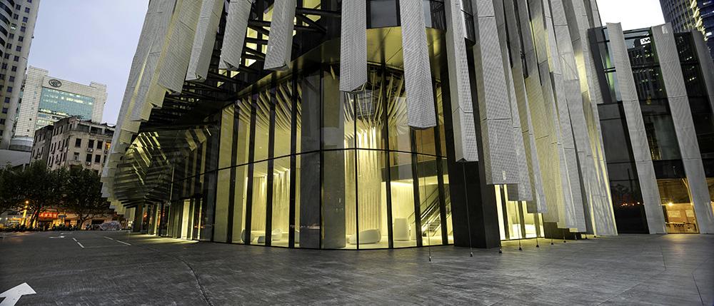 SOHO Hongkou by Architect Kengo Kuma